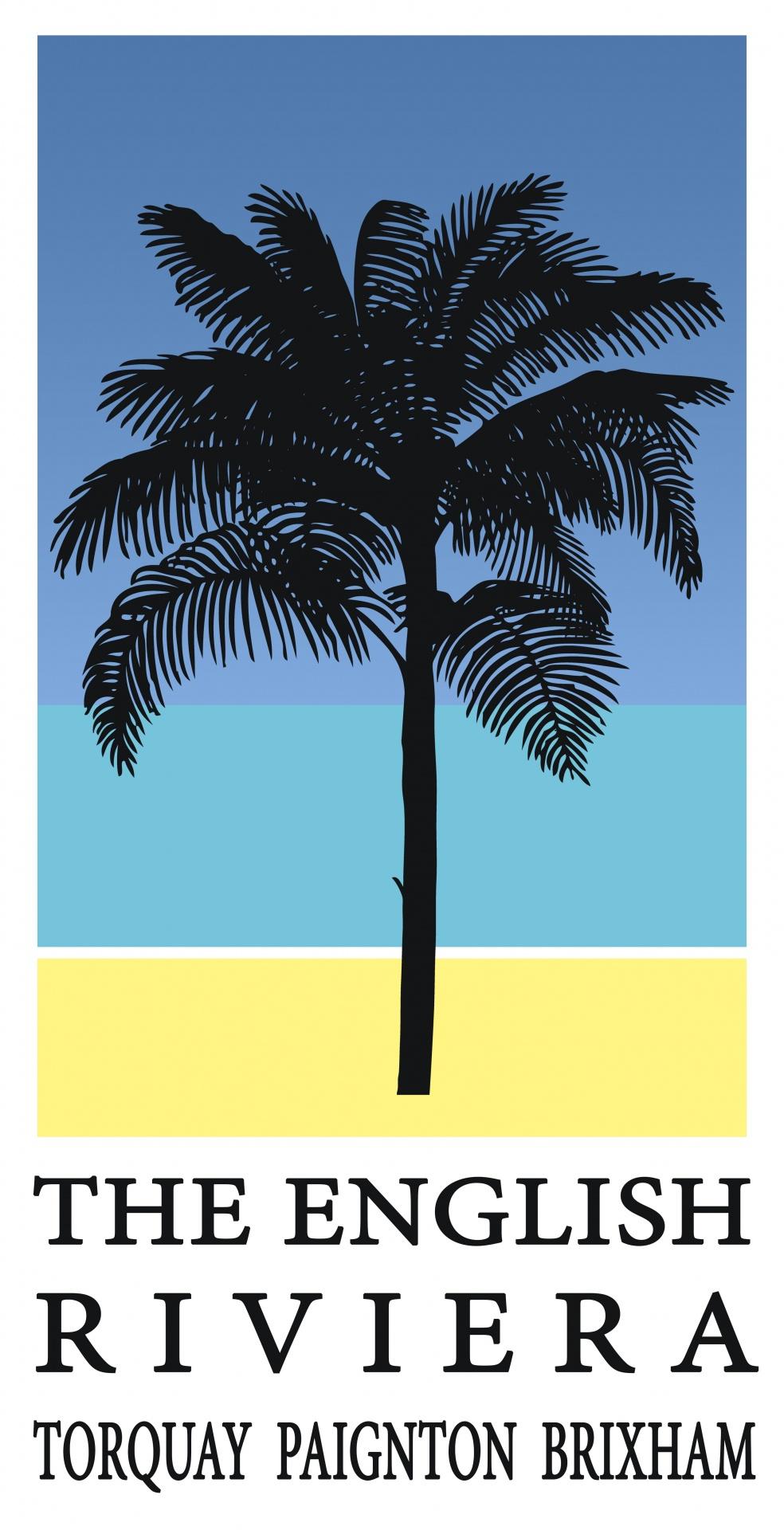 palm tree travel poster free stock