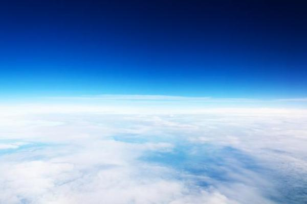 Aerial View Of The Sky Free Stock Photo Public Domain