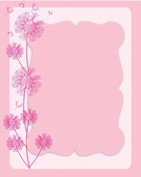 Dandelion Invitation Card