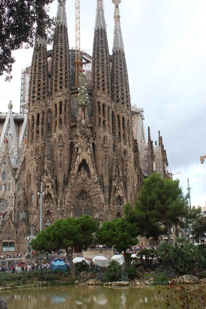 Sagrada Familia 2012