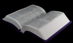 Bible Open To Psalm 118