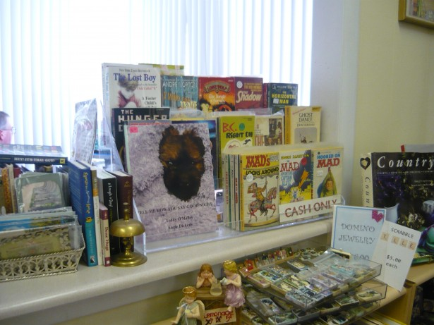Book On Display In Shop, National Book Blitz Month, Reading