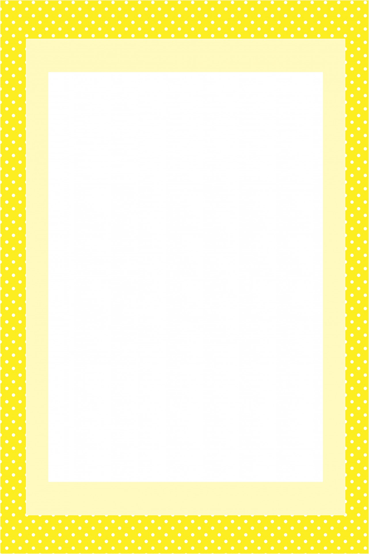 Yellow Invitation Card Frame Free Stock Photo Public Domain Pictures