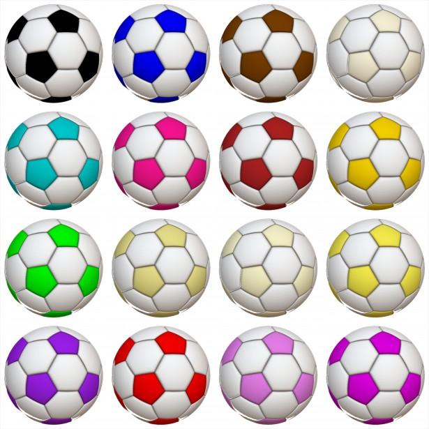 16 soccor balls