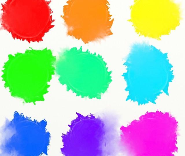 Colour Paint Daubs