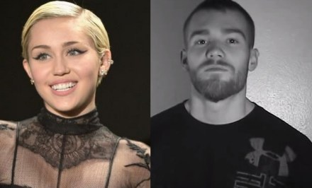 "Miley Cyrus (lef) , James Jamesson (right) - both indentify as ""Pan Sexual"""