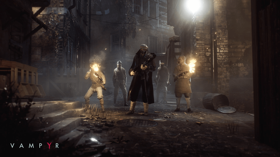 Vampyr battle screenshot