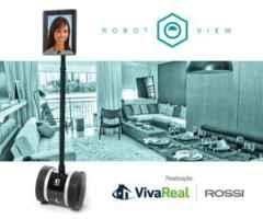 VivaReal e Rossi realizam ação inovadora utilizando robô em apartamento decorado