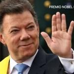Premio Nobel de la Paz 2016 gana el presidente de Colombia Juan Manuel Santos
