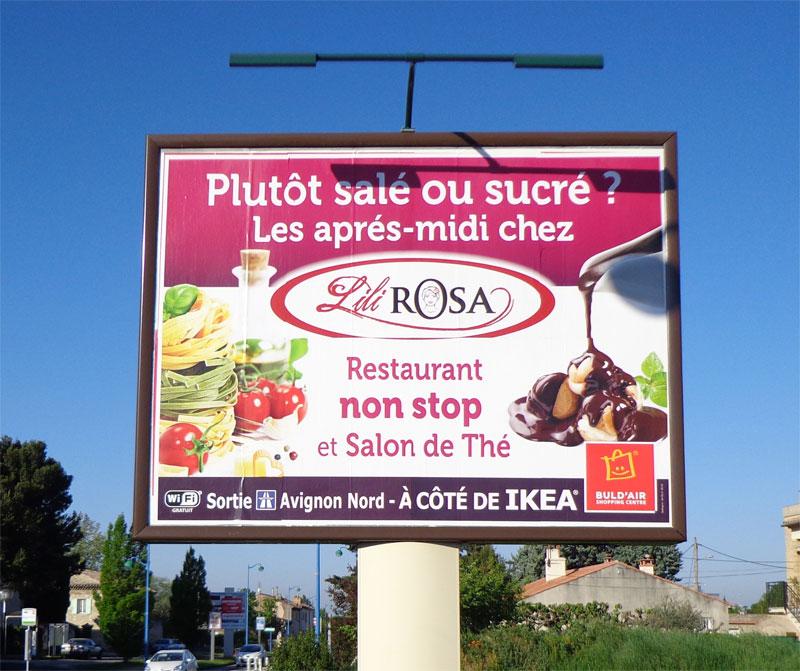 Image result for publicité affiche restaurant