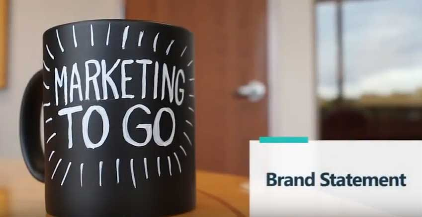 Marketing To Go: Brand Statement