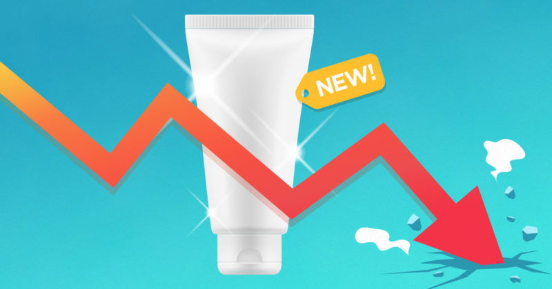 What percentage of new products fail and why?
