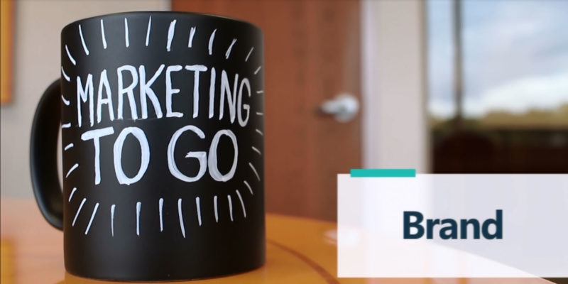 Marketing To Go: Brand