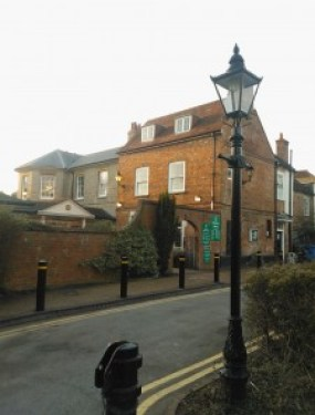 Farnham Library from street
