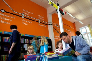 With a train theme and a rail map on the wall to Hogwarts, Newton Abbot wins ... for now