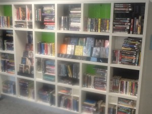 Teenage areas are often a problem. In Stafford, the shelving is notably different to elsewhere and the books are even stacked differently.