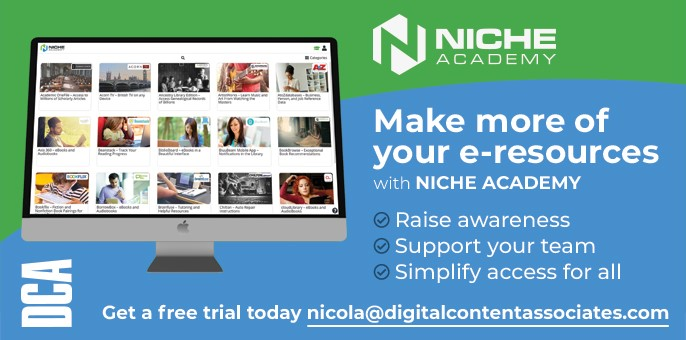 Advert for Niche Academy from DCA