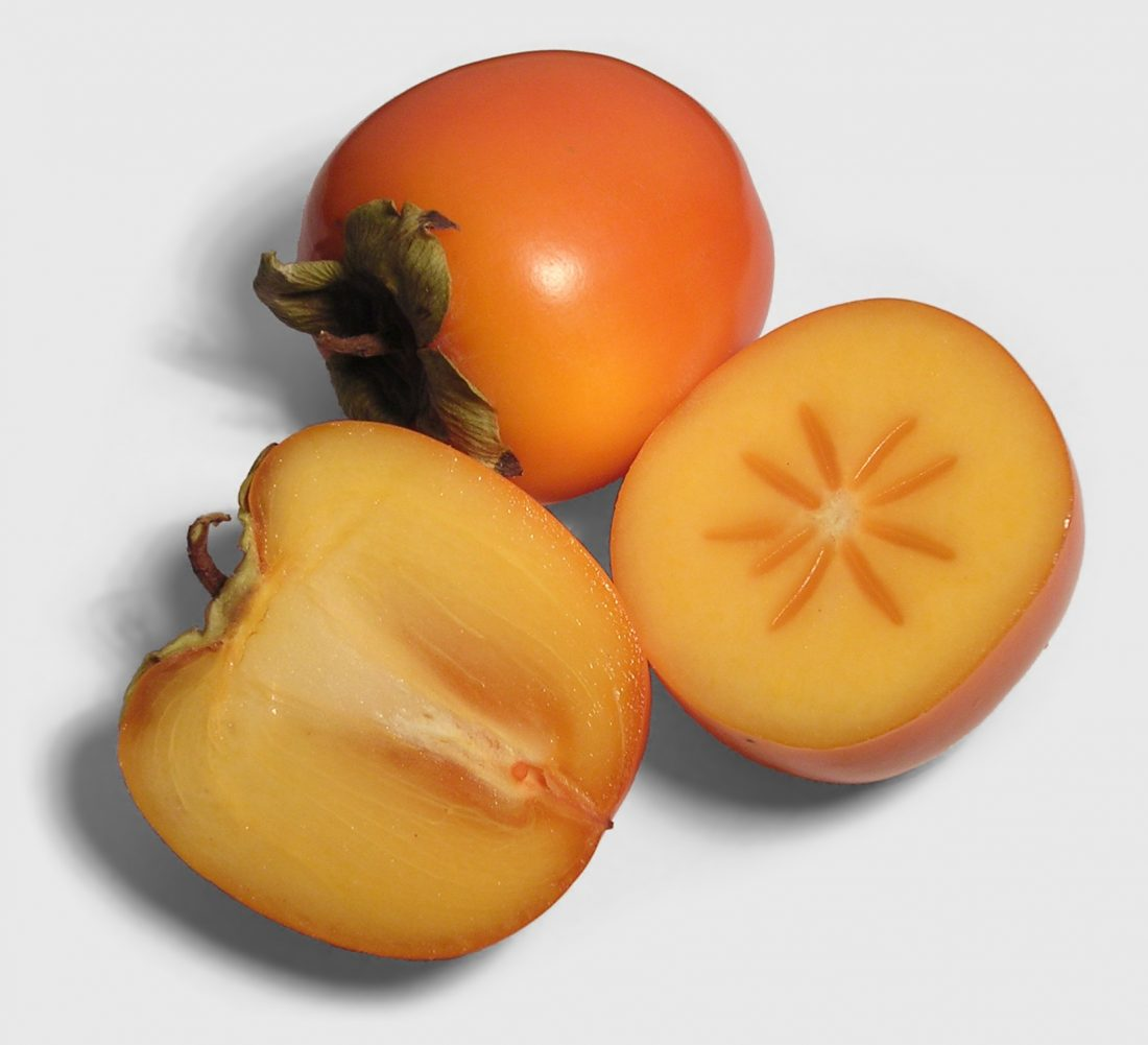 No, persimmon. You're just a candy-flavoured tomato.