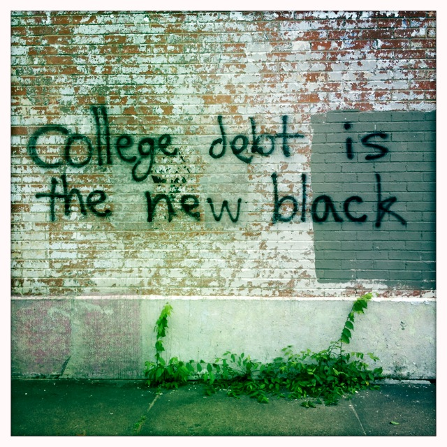 College Debt is the New Black