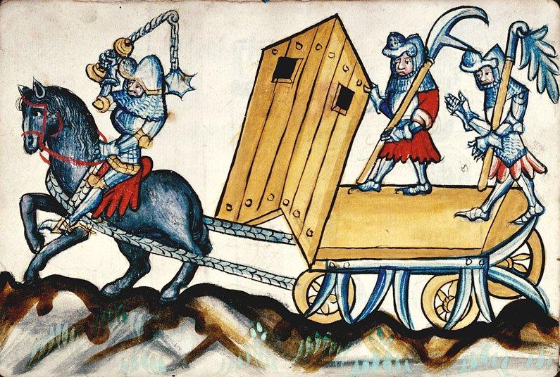 Bellifortis of Konrad Kyeser, MS.1360, 025v