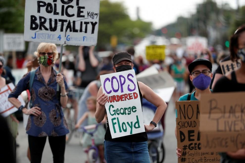 Racismo en EEUU: Las impactantes imágenes de las protestas por la ...