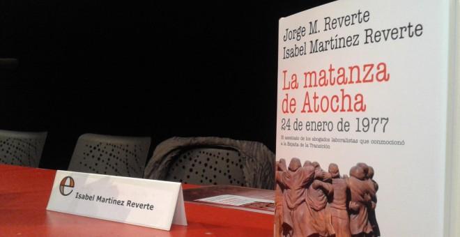 Presentación del libro 'La matanza de Atocha'.