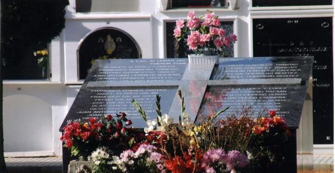 Homenaje a los represaliados del franquismo en Torremejía.
