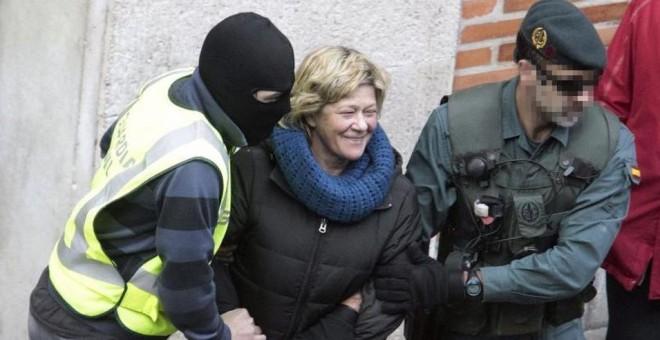 La abogada vasca Arantza Zulueta fue encarcelada en Puerto III (Cádiz) en enero de 2014. Archivo EFE