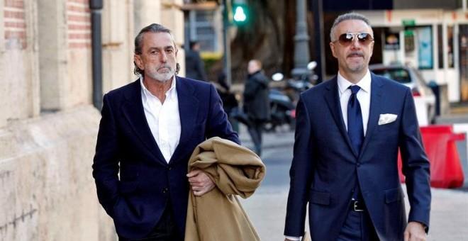 El cabecilla de la trama Gürtel Francisco Correa. EFE/Manuel Bruque.