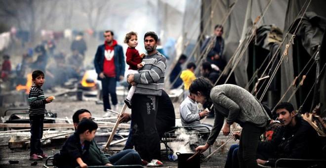 El Gobierno español solo tiene capacidad para acoger a 308 personas cuando quedan por llegar más de 16.500 del cupo de refugiados que se comprometió a reubicar.