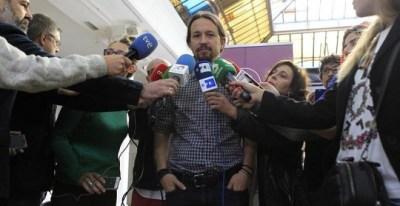 Pablo Iglesias, en una foto de archivo. / VÍCTOR LERENA (EFE)
