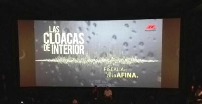 Gran expectación en Madrid en el estreno del documental 'Las Cloacas del Interior'. /PÚBLICO