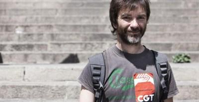 Ermengol Gassiot, secretario general de la CGT en Catalunya.