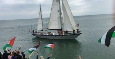Velero de la Flotilla de la Libertad./EUROPA PRESS