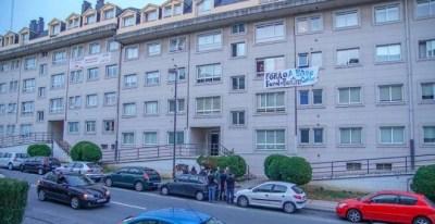 El edificio A Patiña en Cambre A Coruña. Foto: José Antonio Otero Irreversible TV