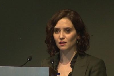 """Ayuso ve """"imprescindible"""" la unión con Cs para las elecciones catalanas"""