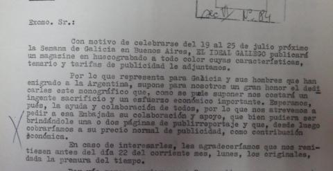 Documentos relacionados con los medios españoles que hicieron campaña con la dictadura argentina.