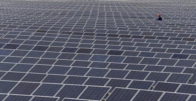 Una planta fotovoltaica. EFE