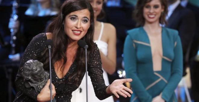 La cantante Silvia Pérez Cruz recibe el Goya a la mejor canción original por