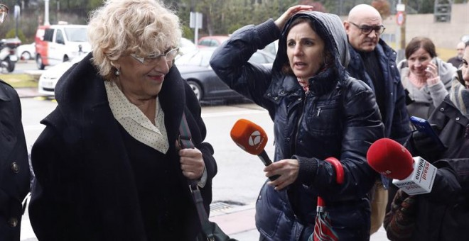 Manuela Carmena, alcaldesa de Madrid.- EFE