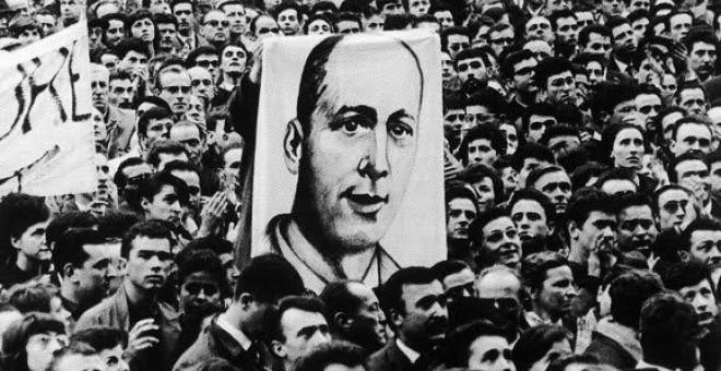 El asesinato de Grimau provocó una oleada de solidaridad en el exterior con la lucha antifranquista