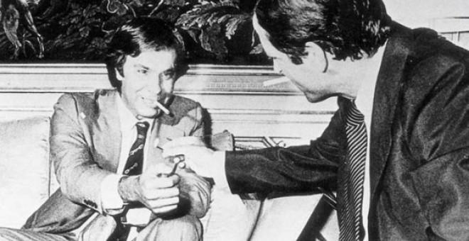 Adolfo Suárez y Felipe González