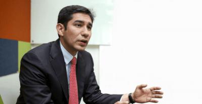 Luis Gustavo Moreno, exdirector de la Fiscalía Nacional Especializada contra la Corrupción de Colombia.