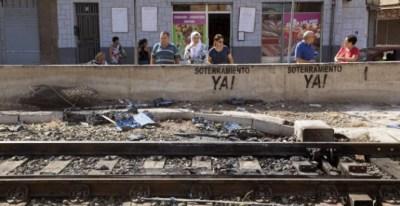 Imagen de las vías del tren. EFE