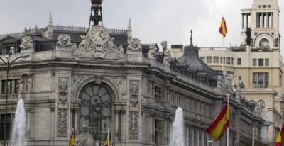 Edificio del Banco de España, en Madrid. E.P.