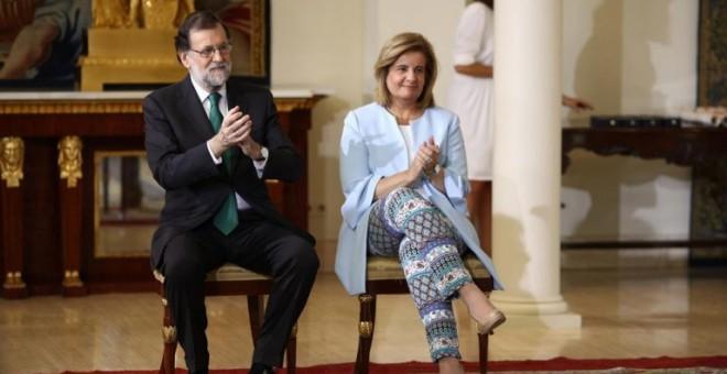 Las cuatro mentiras de Rajoy sobre las pensiones