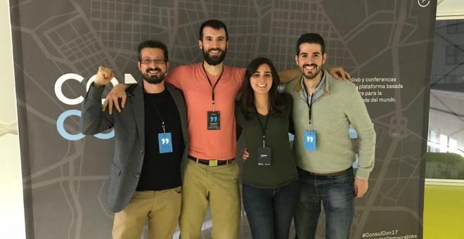 Los 'hackers de Carmena'.
