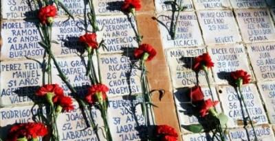 Una de las fosas comunes del cementerio de Paterna. EFE/Archivo