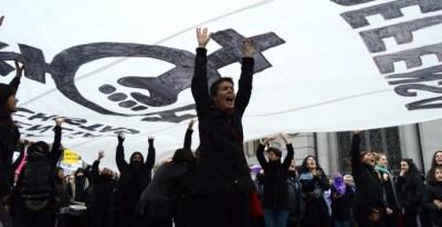 Este 25 de noviembre miles de feministas se han concentrado en contra de la violencia de género - Arancha Ríos