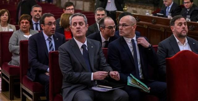 Madrid acoge una manifestación por la libertad de los presos del 'procés'